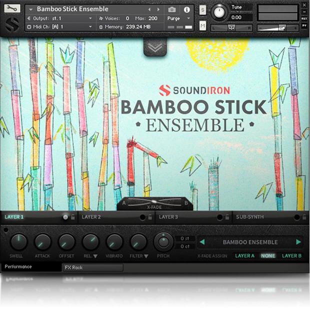 Bamboo Stick Ensemble GUI
