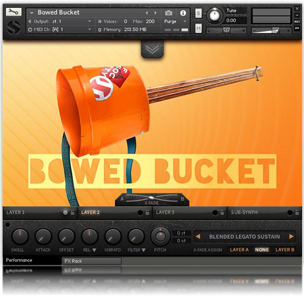 Bowed Bucket GUI