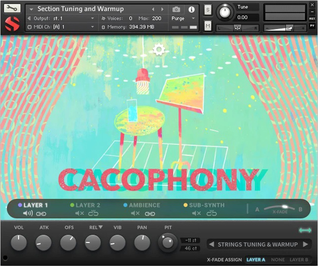 Cacophony GUI