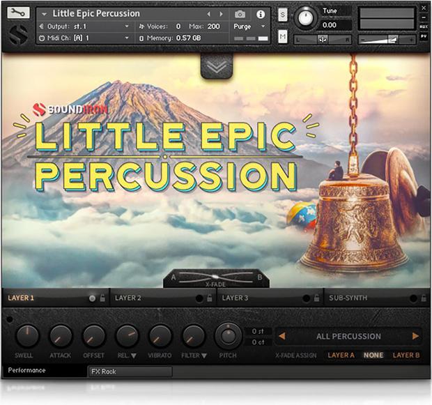 Little Epic Percussion GUI
