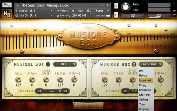Musiquebox GUI