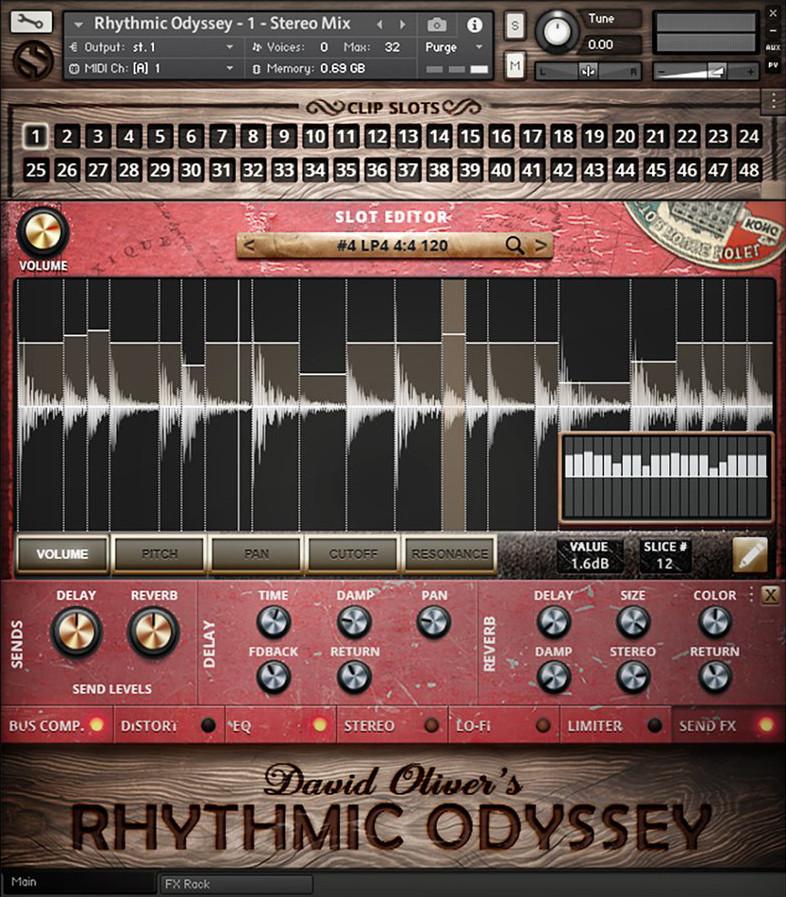 Rhythmic Odessey GUI