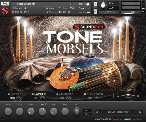 Tone Morsels GUI