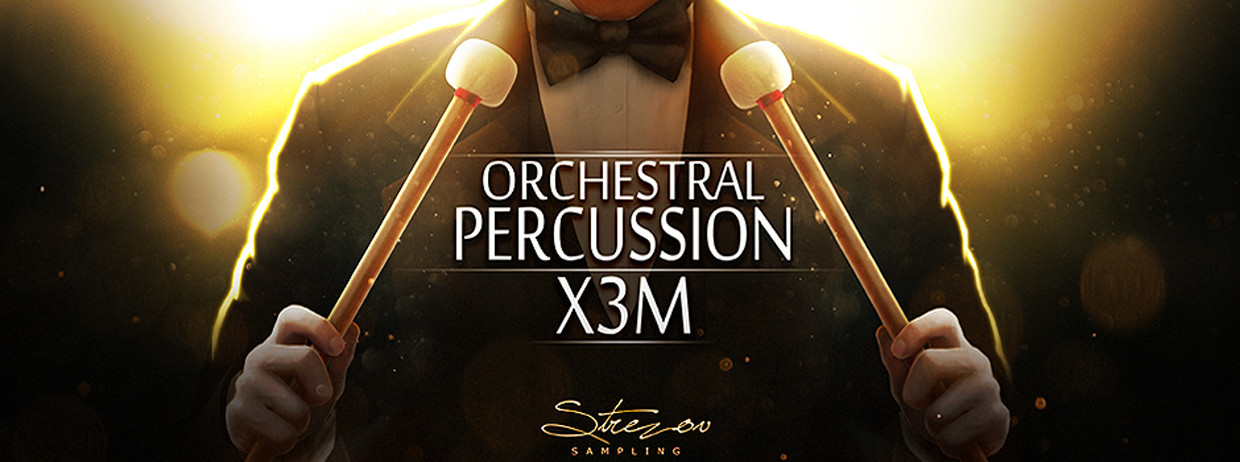 Orchestral Percussion X3M Header