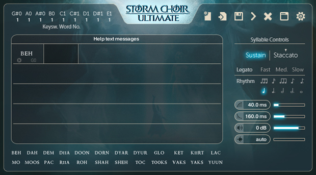 Storm Choir Syllabuilder GUI