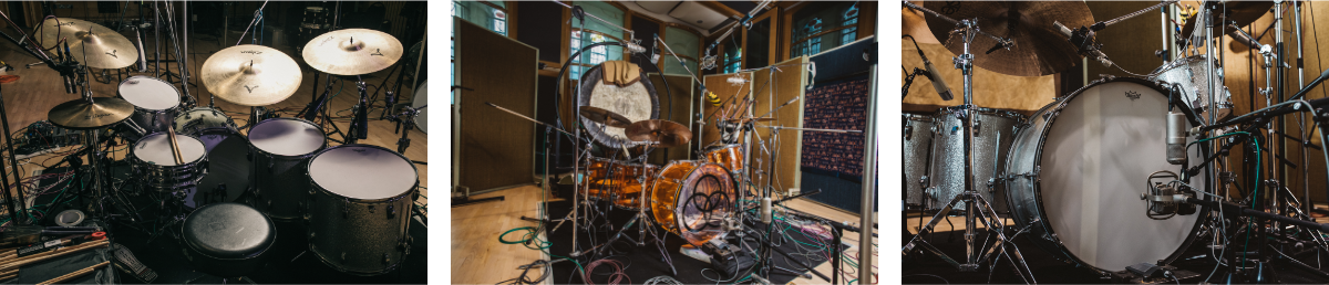 Drumset Banner