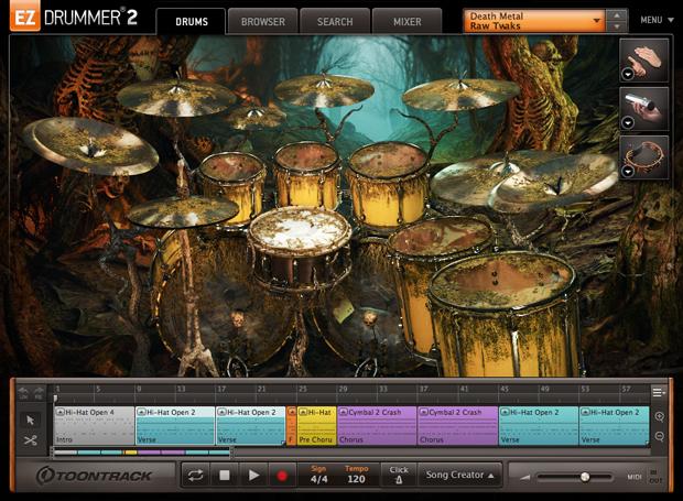 Death Metal GUI Screen