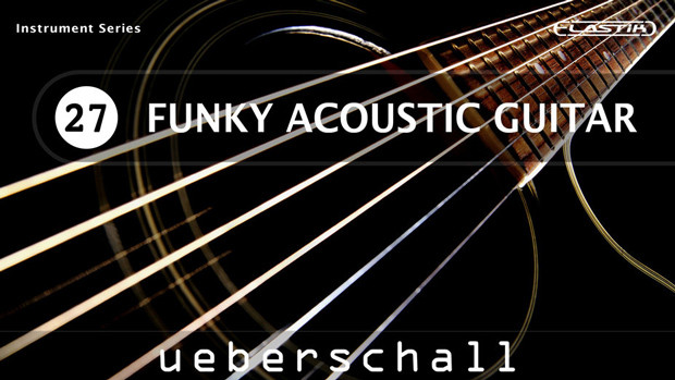 Funky Acoustic Guitar Header