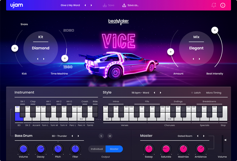 BeatMaker Vice GUI