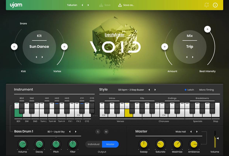 Beatmaker Void GUI