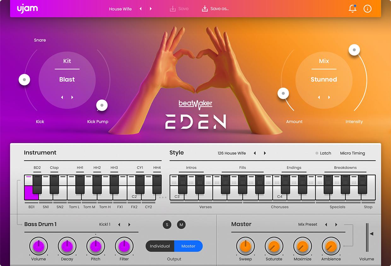 BeatMaker Eden 2 GUI
