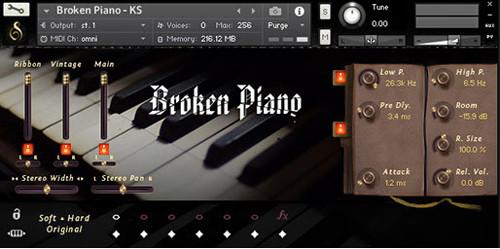 Broken Piano GUI