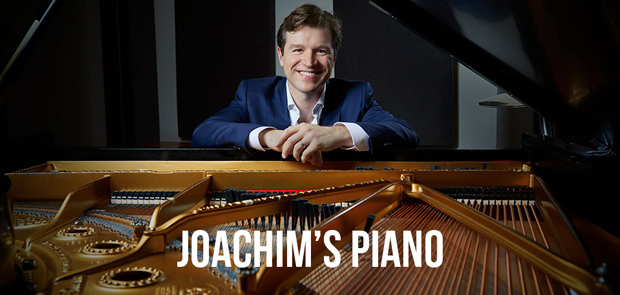 Joachims Piano Banner