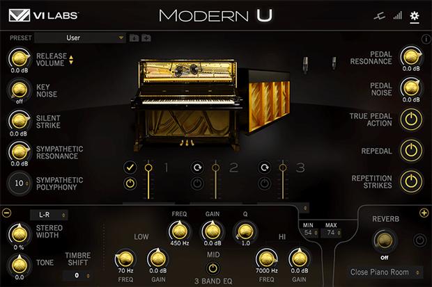 Modern U GUI Screen 2