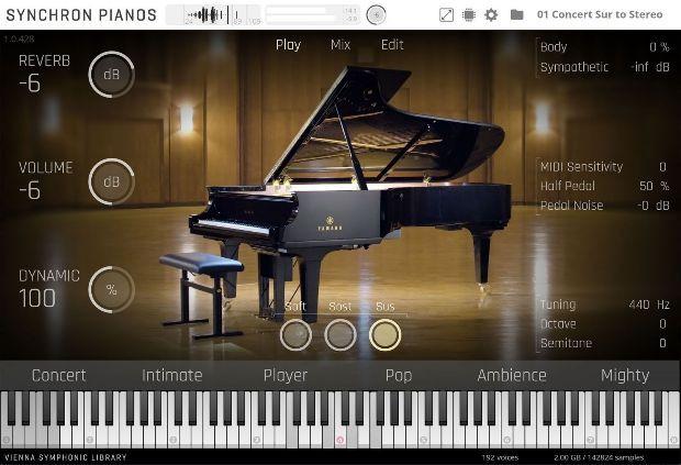 Synchron Pianos