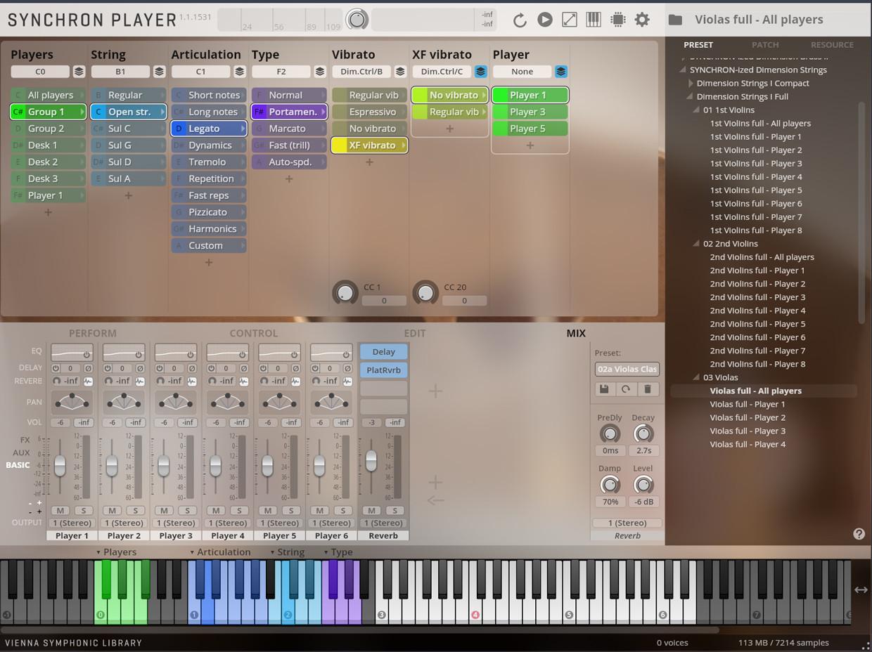 Synchro Dimension String GUI 2