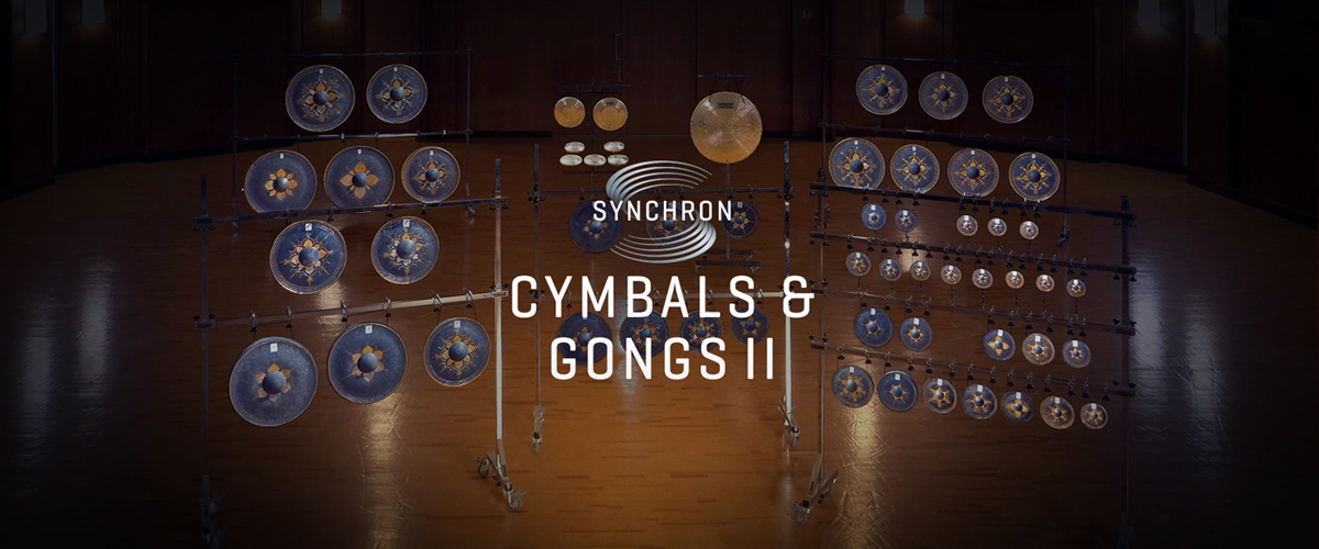 Synchron Cymbals & Gongs Header