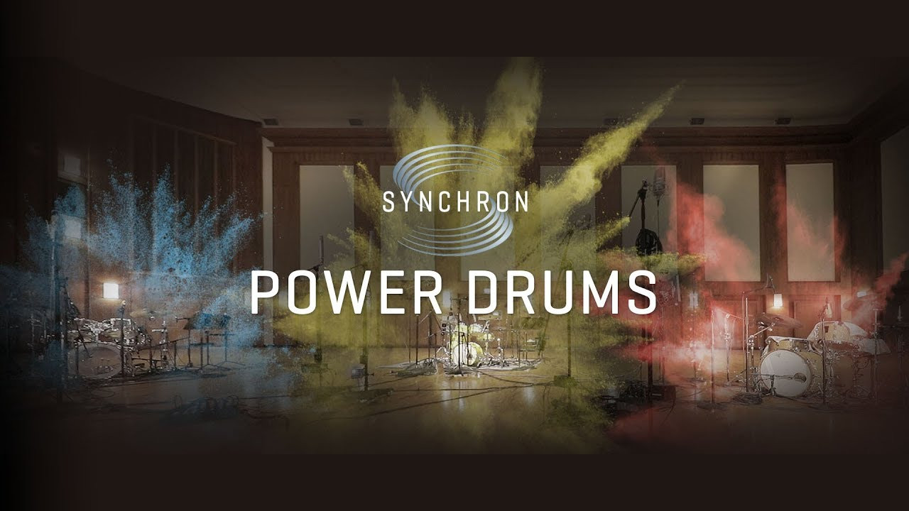 Power Drums Banner