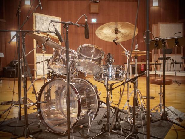 Popwer Drums Sonor Acrylic Set Imagew