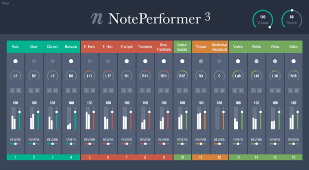 NotePerformer Mixer