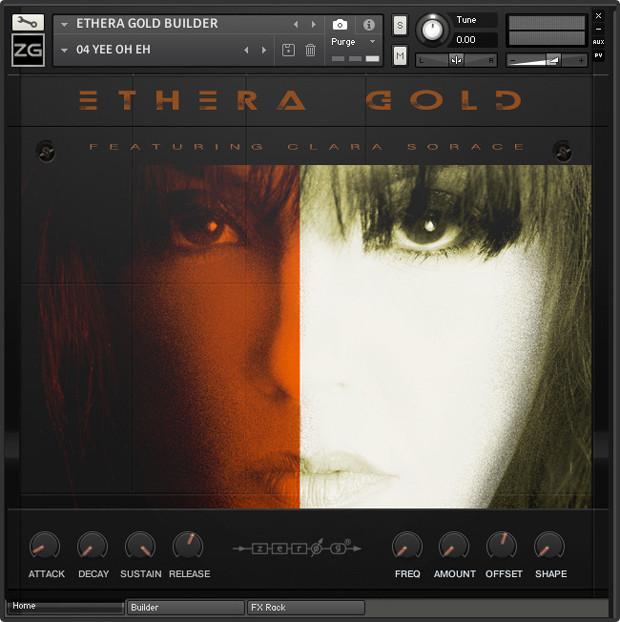 Ethera Gold GUI Screen