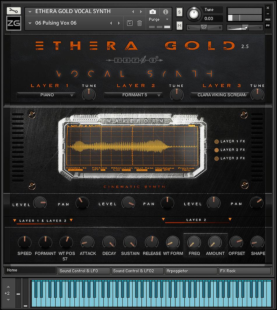 Ethera Gold 2.5 GUI