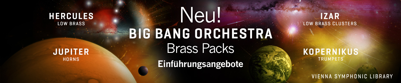 Neu: Big Bang Orchestra Brass Packs
