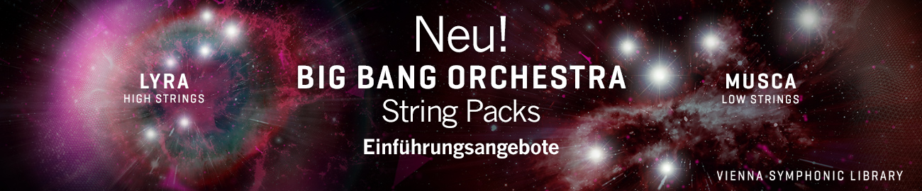 Neu: Big Bang Orchestra String Packs