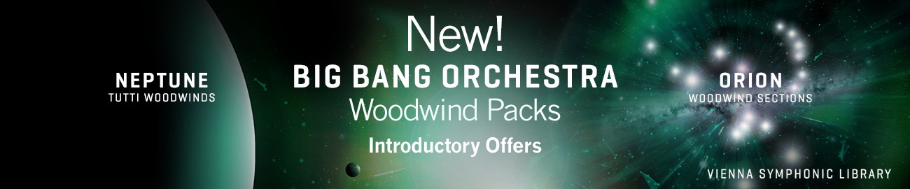 VSL BBO: Woodwind Packs Intro Offer