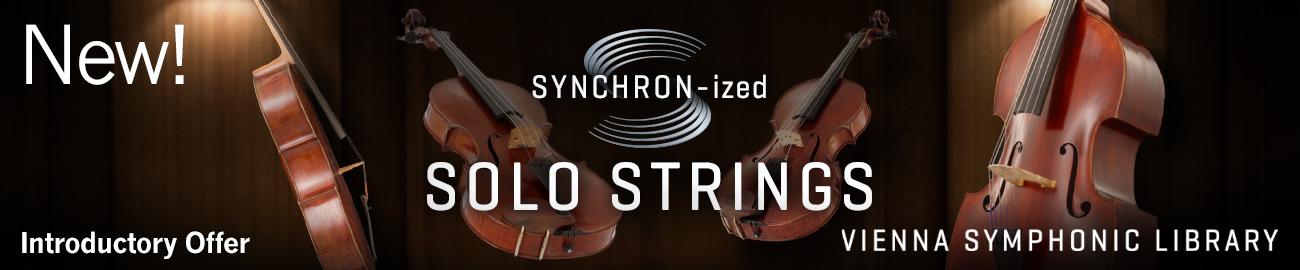 SYNCHRO-nized Solo Strings Intro Offer