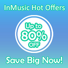 InMusic Hot Offers - up to 80% OFF