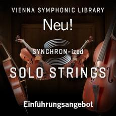 VSL SYNCHRON-ized Solo Strings Einführungsangebot
