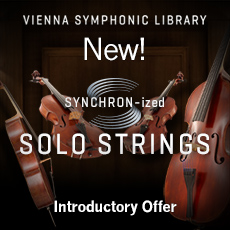 VSL SYNCHRON-ized Solo Strings Introductory Offer