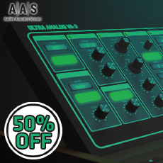 AAS 50% OFF Ultra Analog VA-3 and Packs