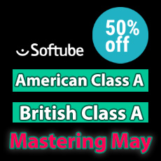 Softube Mastering May - 50% OFF