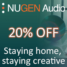 NUGEN Audio - Stay At Home 20% OFF