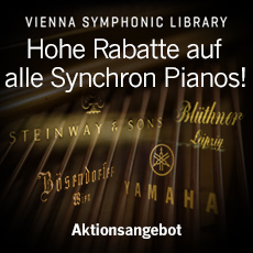 VSL: Hohe Rabatte auf alle Synchron Pianos!
