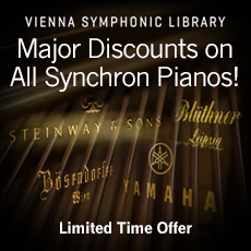 VSL Major Discounts on All Synchron Pianos!