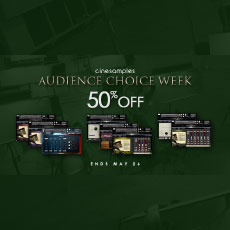 Cinesamples Audience Choice Week - 50% OFF