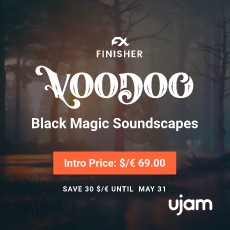 UJAM: Finisher Voodoo - Introductory Offer