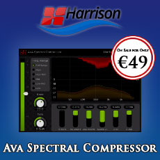 Harrison AVA Spectral Compressor On Sale