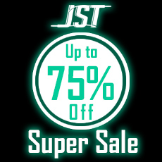 JST Super Sale - Up to 75% OFF
