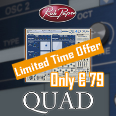 Rob Papen Quad Special Offer - 20% OFF