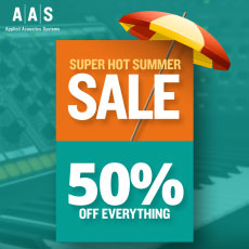AAS Super Hot Summer Sale - 50% OFF