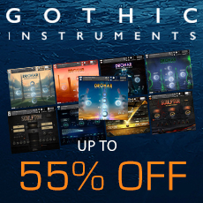 Gothic Instruments Summer Sale - Up to 55% OFF