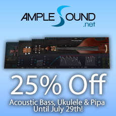 Ample Sound - Acoustic Bass Special - 25% OFF