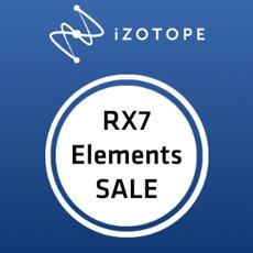iZotope: RX Elements Flash Sale
