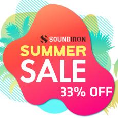 Soundiron Summer Sale - 33% OFF