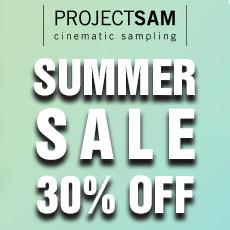 Summer Sale 30% Off ProjectSAM