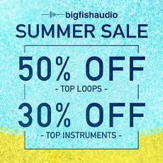 Big Fish Audio - Summer Sale - Up to 50% OFF